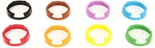Sennheiser Identific. rings set 8 colors