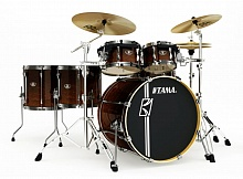 TAMA ML52HLZBNS-DMF SUPERSTAR HYPER-DRIVE MAPLE CUSTOM DARK MOCHA FADE