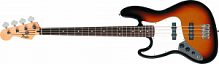 Fender Standard Jazz Bass LH RW Brown Sunburst Tint