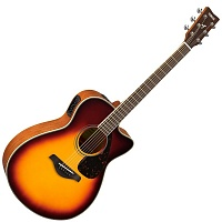 YAMAHA FSX820C BROWN SUNBURST