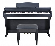 Artesia DP-7 Black Satin + Bench